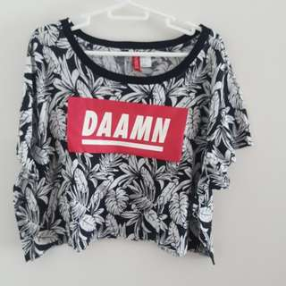 H&M statement Top