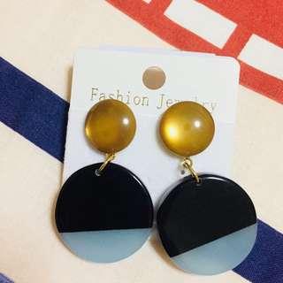 Acrylic korean retro Earrings