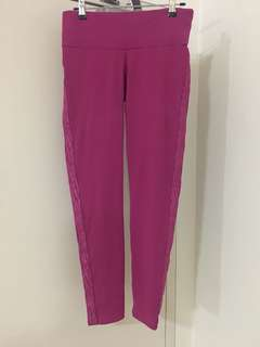 Tights. Activewear. Size M. Bloch. Fuchsia colour.