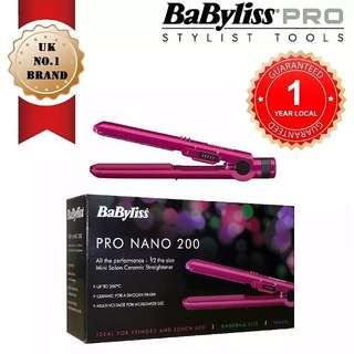 BABYLISS Mini Hair Straightener for Travel