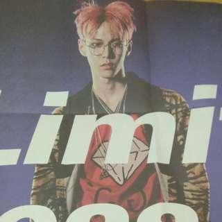 WTS/ WTT Doyoung limitless poster & Jaehyun doodle sticker