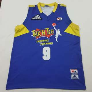 Legit BNWOT Accel PBA Talk N Text Mark Cardona Jersey XL