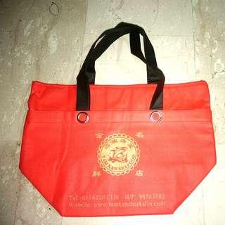 Large Red Cooler Bag