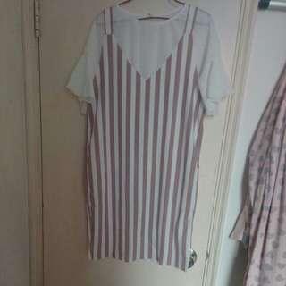 連身裙 連衫 一套 全新 $30