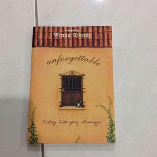 Preloved novel winna Efendi : Unforgettable