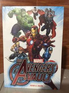 Marvel Comics: Avengers Vault by Peter David (Hardcover)