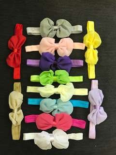 Baby Ribbon Headbands