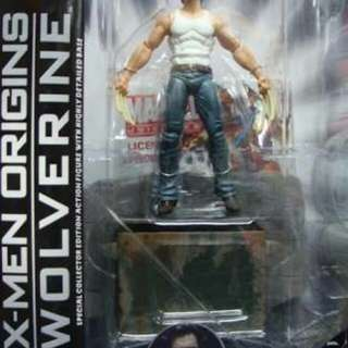 X-Men Origins Marvel Select Wolverine