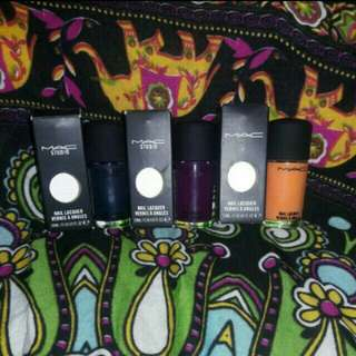 Original mac studio nail polish bundle