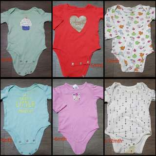 Preloved Baby Romper ( 10pcs )