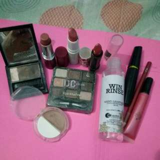 ASSORTED MAKE UP TAKE ALL