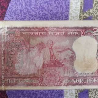 100 Notes Serial Packet ( Bundle ) - MAHATMA GANDHI - R2 - L.K. JHA - india