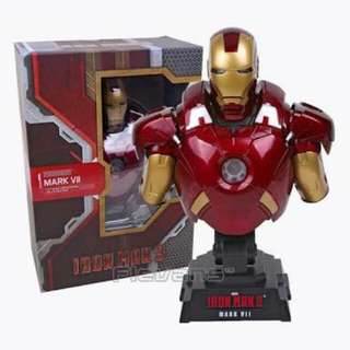Iron Man 3 Mark VII Hot Toys Bust 1:4 Scale