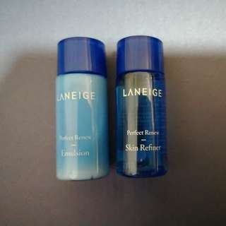Laneige Perfect Renew set