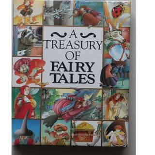 English book (A Treasury of  Fairy Tales)