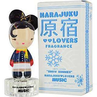 Harajuku Lovers Fragrance by Gwen Stefani - Snow Bunnies 'Music'