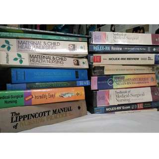 Nursing and Medicine books