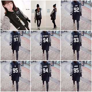 BTS LONG BASEBALL JACKET