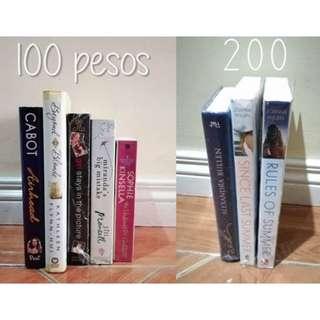 PRELOVED BOOKS FOR SALE