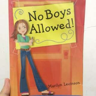 No Boys Allowed! By Marilyn Levinson
