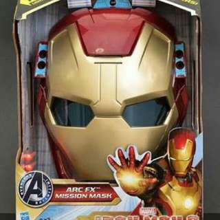 Iron Man Helmet Mission Mask ARC FX HASBRO