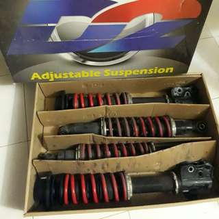 adjustable suspension (D)