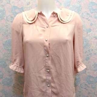 Kamiseta baby pink flannel