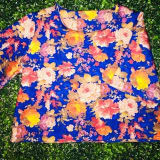 Floral croptop