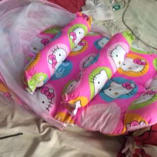 Baby foam set bed