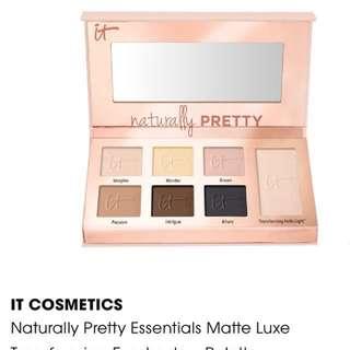 Matte Luxe Transforming Eyeshadow Palette