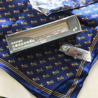 (絕版珍藏) 九鐵 列車模型 紀念品 KCR Souvenir Limited Collection