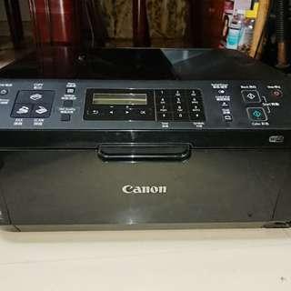 二手當零件賣CANON MX416 打印機