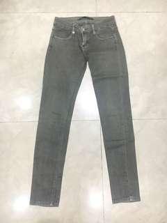 Jeans abu-abu skinny