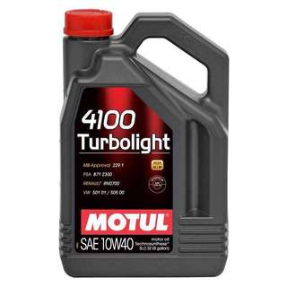Motul turbolight 10w40 5 liter