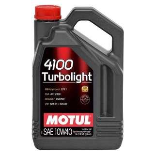 Motul turbolight 10w40 5 liter