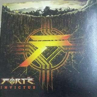 Music CD (2xCD, Metal): Forté–Invictus - Power Metal, Thrash Metal