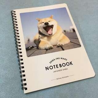 🐶柴犬A5 notebook