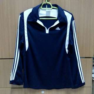 Women Adidas Jersey Sports Top Sweatshirt #CNY88