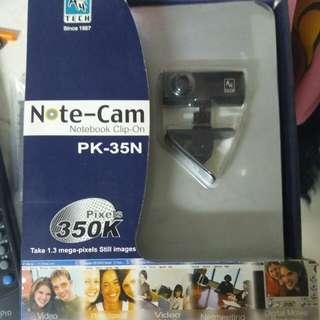 Notebook cam