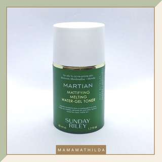 SUNDAY RILEY Martian Mattifying Melting Water-Gel Toner (50 mL)