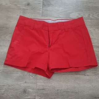 Uniqlo Red Shorts