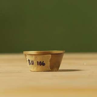 Hiasan mangkuk kecil bahan kuningan (BU.106)