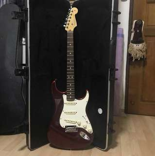 Fender American Standard Stratocaster in Candy Apple Red