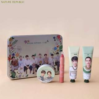 EXO NATURE REPUBLIC MOSTURIZER SET