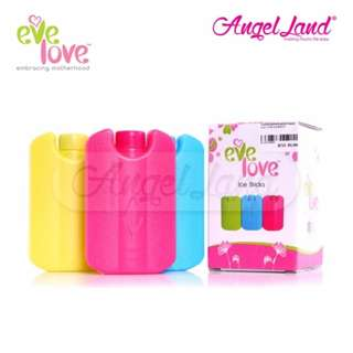 3 x Eve Love BPA FREE Ice Brick