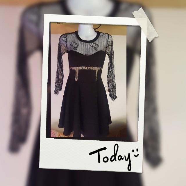 2手-黑色洋裝小禮服