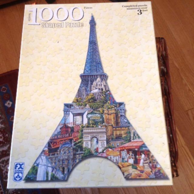 3D Eiffel Tower Puzzle