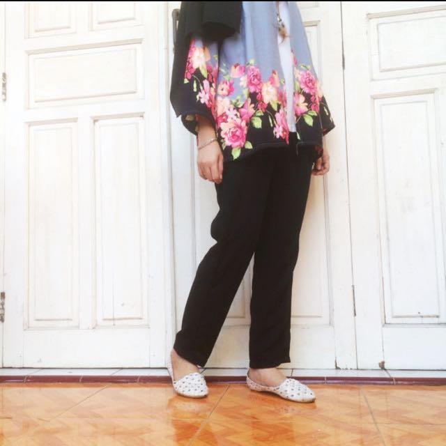 3pcs 💯rb 🛍 New! Celana hitam
