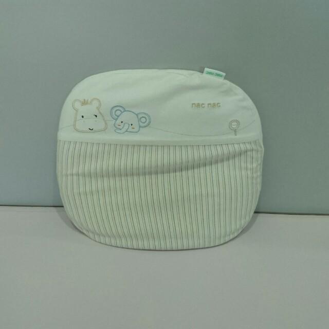 麗嬰房有機棉防扁頭嬰兒枕