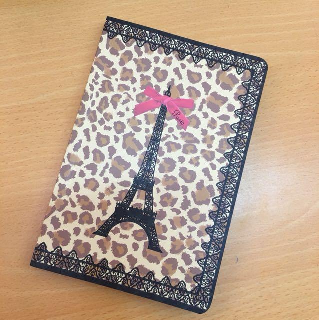 巴黎鐵塔豹紋筆記本